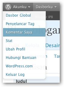 Ada efek bayangan pada font dan menu, serta border yang bisa melengkung