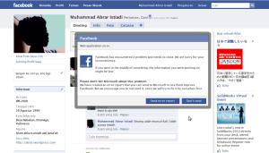Facebook error :D